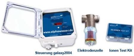 galaxy2004 Wasseraufbereitung Ionizer Ionisation Clearwater Ionisierung
