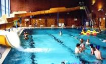 Schwimmbad Hallenbad St. Vith Belgien chlorfreie Desinfektion Silber & Kupferbatterien
