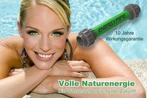 Energypipe zur energetischen Wasserbehandlung für Ihr Schwimmbadwasser