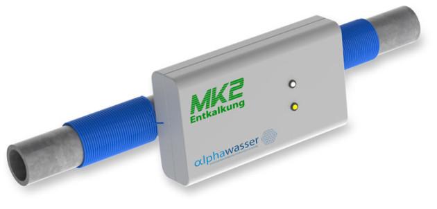 Physikalische Entkalkungsanlage MK2 für Kunststoff & Metallleitungen
